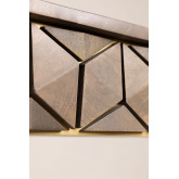 Tavolo da pranzo rettangolare in mango (180x90 cm) Albi, immagine in miniatura 6