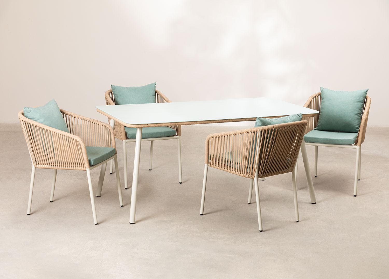 Set 4 sedie Arhiza Supreme e tavolo Arhiza, immagine della galleria 1