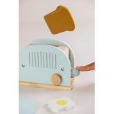 Set da colazione per bambini Branx con macchina per panini in legno, immagine in miniatura 2