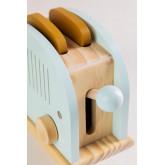 Set da colazione per bambini Branx con macchina per panini in legno, immagine in miniatura 3