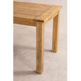 Tavolo da pranzo rettangolare in legno (150x85 cm) Alya, immagine in miniatura 5