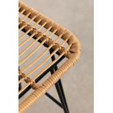 Sgabello alto da giardino Meibel in rattan sintetico, immagine in miniatura 6
