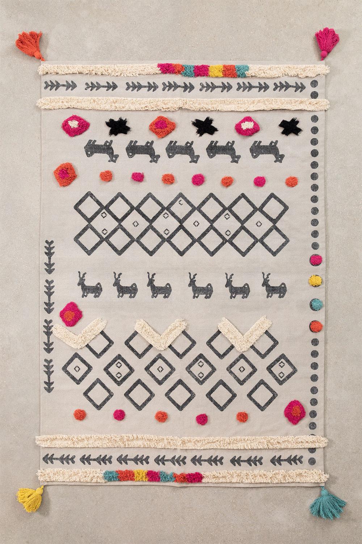 Tappeto in cotone (180x120 cm) Rehn, immagine della galleria 1