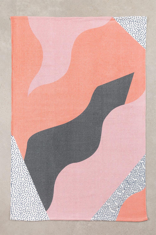 Tappeto in cotone (190x115 cm) Cler, immagine della galleria 1054996