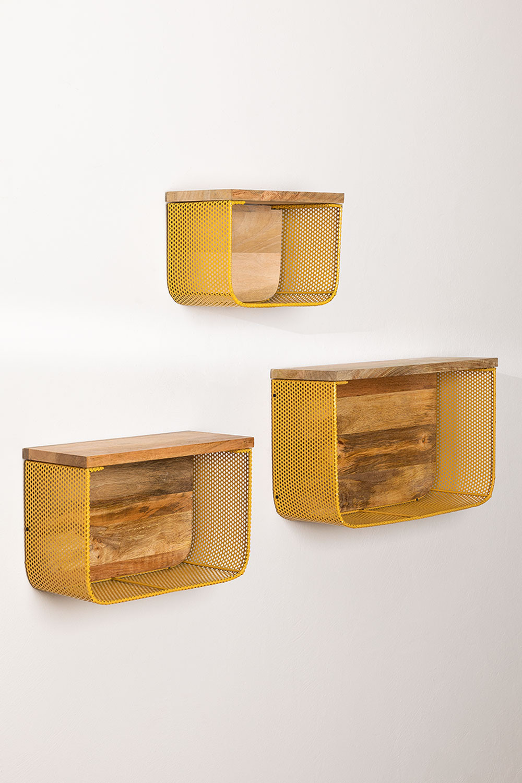 Set di mensole da parete Byme, immagine della galleria 1