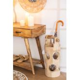Portaombrelli in legno di teak Dred, immagine in miniatura 1056646
