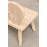 Panca in legno Buny Style Kids, immagine in miniatura 6