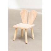 Sedia in legno Buny Style Kids, immagine in miniatura 2
