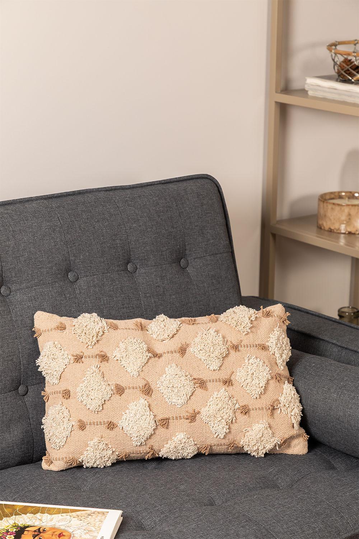Cuscino in cotone (30x50 cm) Raixel, immagine della galleria 1