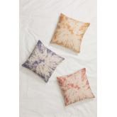 Cuscino quadrato in cotone tie dye (45x45 cm) Moanda, immagine in miniatura 1