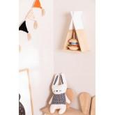 Mensola da parete in legno Sius Kids , immagine in miniatura 1
