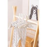 Confezione da 3 appendini in legno Buny Kids, immagine in miniatura 1