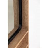 Specchio da parete rettangolare con mensole in MDF (96x46 cm) Quhe, immagine in miniatura 6