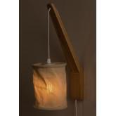 Lampada da parete con paravento sospeso Uroa, immagine in miniatura 4