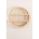 Mensola da parete in rattan e legno Marua, immagine in miniatura 2
