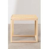 Tavolinetto in Rattan e Legno Riolut, immagine in miniatura 3