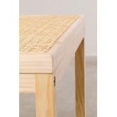 Tavolinetto in Rattan e Legno Riolut, immagine in miniatura 4