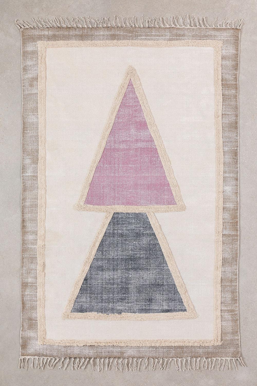 Tappeto in cotone (185x120 cm) Pinem, immagine della galleria 1