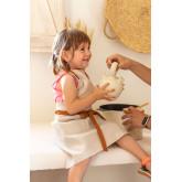 Grembiule in lino e cotone Zacari Kids, immagine in miniatura 1