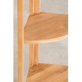 Scaffale in legno di teak Jerbas, immagine in miniatura 5