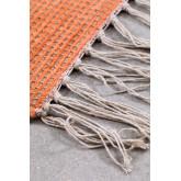 Tappeto in juta e tessuto (274x172 cm) Nuada, immagine in miniatura 3