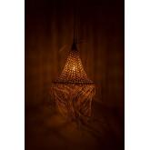 Lampada da Soffitto in Rattan (Ø40 cm) Karab, immagine in miniatura 4