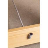 Tavolo pieghevole in legno (180x90 cm) Anic, immagine in miniatura 6