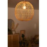 Lampada da Soffitto in Rattan (Ø50 cm) Api, immagine in miniatura 2