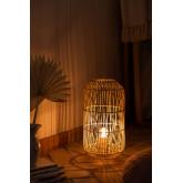 Lampada da Tavolo in Rattan Api , immagine in miniatura 2
