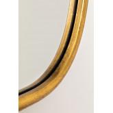 Specchio da parete in metallo Ewlin, immagine in miniatura 4