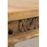 Tavolino Rettangolare in legno di Mango Taraz , immagine in miniatura 4