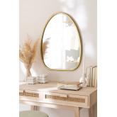 Specchio da parete in metallo Ewlin, immagine in miniatura 1