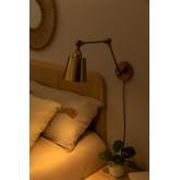 Lampada da parete metallizzata Floy, immagine in miniatura 2