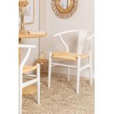 Sedia da pranzo in legno Uish Design, immagine in miniatura 1