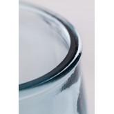 Set 1 bottiglia e 2 bicchieri in vetro riciclato Kasster, immagine in miniatura 6