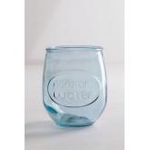 Set 1 bottiglia e 2 bicchieri in vetro riciclato Kasster, immagine in miniatura 4