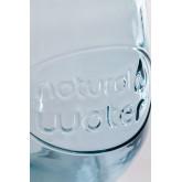 Set 1 bottiglia e 2 bicchieri in vetro riciclato Kasster, immagine in miniatura 5