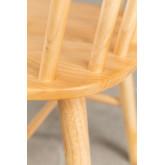 Sedia da pranzo naturale Shor, immagine in miniatura 5