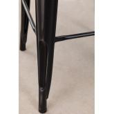 Sgabello alto LIX vintage in acciaio, immagine in miniatura 3