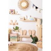 Mensola da parete in legno Buny Style Kids, immagine in miniatura 5