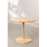 Tavolo da pranzo rotondo in legno di frassino Tuhl, immagine in miniatura 2