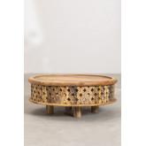 Tavolino da caffè in legno Riad, immagine in miniatura 3