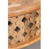 Tavolino da caffè in legno Riad, immagine in miniatura 5