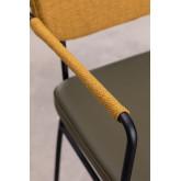 Sedia da pranzo con braccioli Milih , immagine in miniatura 5