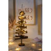 Albero di Natale in legno con luci LED Madi, immagine in miniatura 1