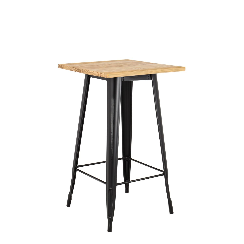 Tavolino Alto E Stretto.Tavolo Alto Lix Vintage Legno
