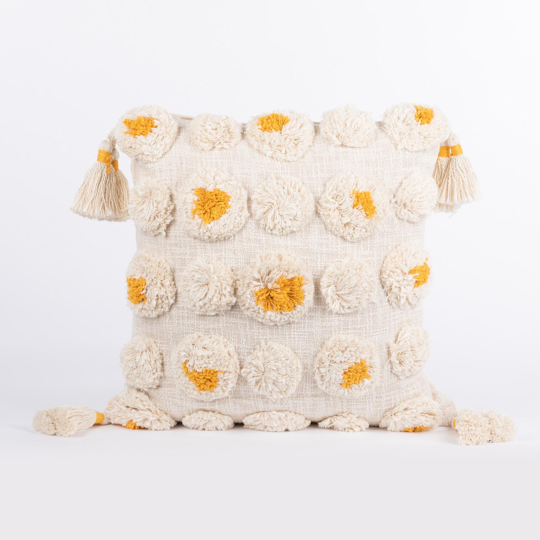 Federa cuscino quadrato in cotone (50x50 cm) Yehm, immagine della galleria 1