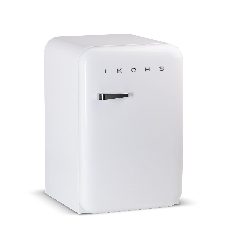 Frigorifero Americano Anni 50 retro fridge 83.5 bianco - frigorifero