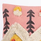 Federa cuscino quadrato in cotone (50x50 cm) Sham, immagine in miniatura 4