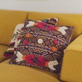 Federa Cuscino Quadrato in cotone (50x50 cm) Kila, immagine in miniatura 5
